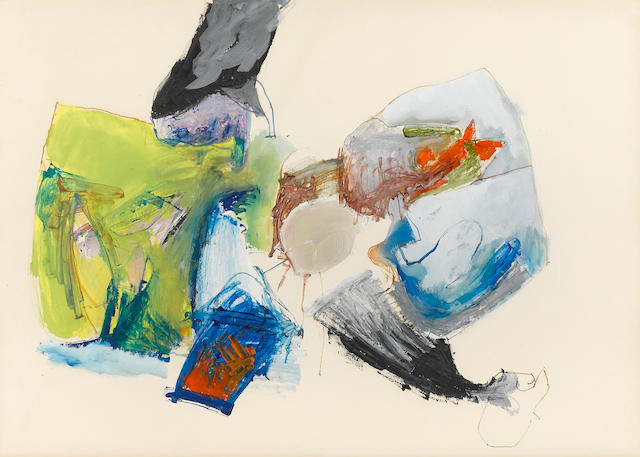 John Altoon (1925-1969) Untitled, c. 1960 19 3/4 x 27 1/2in (50.1 x 69.9cm)