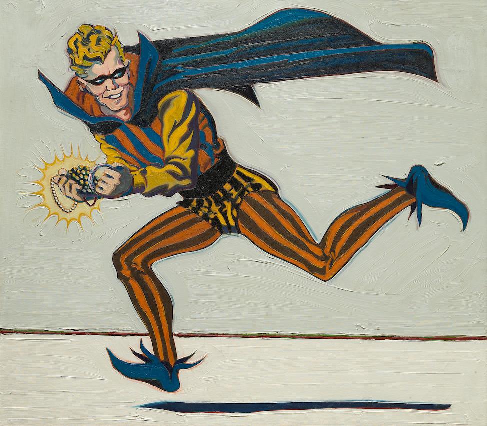 Mel Ramos (American, born 1935) The Trickster, 1962 44 x 50 in. (111.7 x 127cm)
