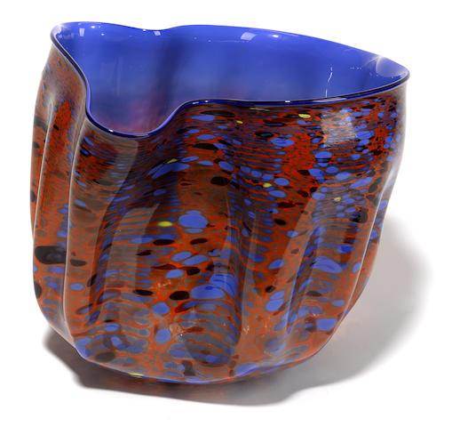 A Dale Chihuly glass macchia