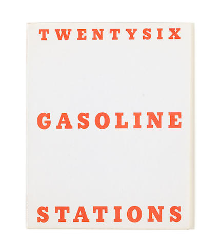 Ed Ruscha (born 1937) Twentysix Gasoline Stations, 1963 printed 1969 7 x 5 1/2in (17.8 x 14cm)