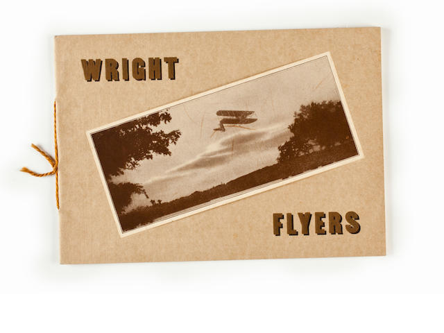 SELLING THE WRIGHT FLYERS, 1912. Wright Flyers. New York: [the Wright Company, c.1912].