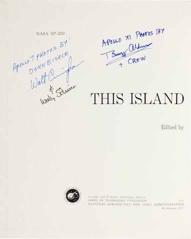 EARLY APOLLO EARTH PHOTOGRAPHY. NICKS, ORAN W., editor. This Island Earth. NASA SP-250. Washington: 1970.