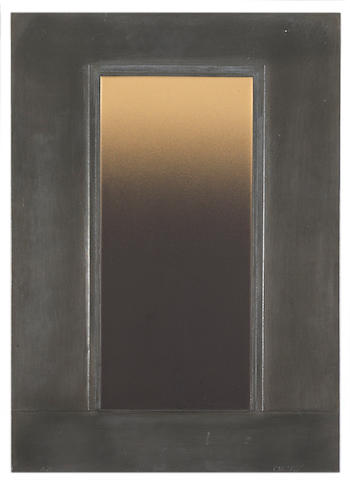 Eric Orr (1939-1998) Untitled, 1981 24 x 17in (61 x 43.2cm)
