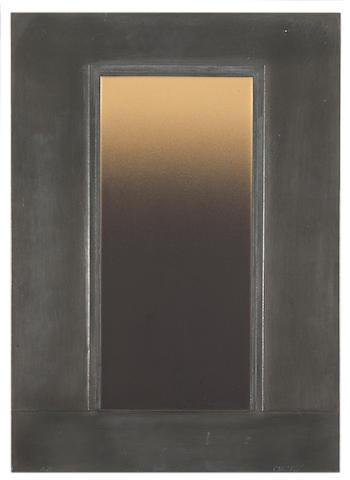 Eric Orr (1939-1998) Untitled, 1981 24 x 17in (61 x 43.2cm)