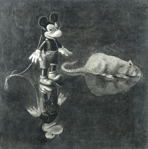 Gordon Cook (1927-1985) Mickey Mouse 12 3/8 x 12 1/8in (31.4 x 30.8cm)