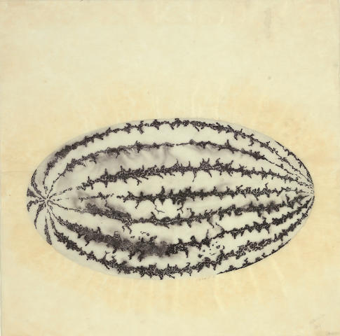Ruth Asawa (born 1926) Watermelon, 1968 17 7/8 x 17 7/8in (45.4 x 45.4cm)