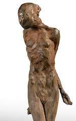 Nathan Oliveira (1928-2010) Figure Three, 1982 41 1/2 x 30 5/8 x 22 1/4in (105.4 x 77.8 x 56.5cm)