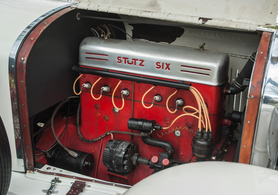 1925 Stutz Series 695 Speedway Six Speedster  Engine no. 14128