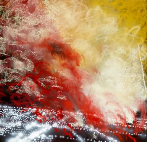 Peter Alexander (born 1939) Universal XIII, 1991 39 3/8 x 40 3/4in (100 x 103.5cm)