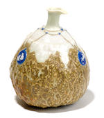Taxile-Maximin Doat porcelain and gres gourd form vase