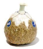 Taxile-Maximin Doat pâte-sur-pâte porcelain gourd-form vase circa 1900
