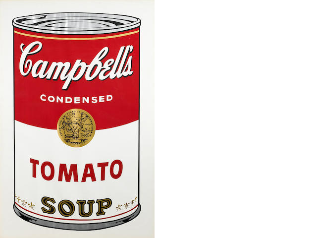 Andy Warhol (1928-1987); Tomato, from Campbell's Soup I;