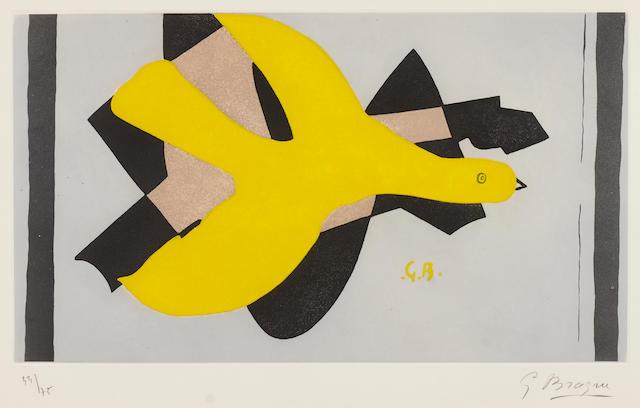George Braque, L'Oiseau et son ombre III II 33/55