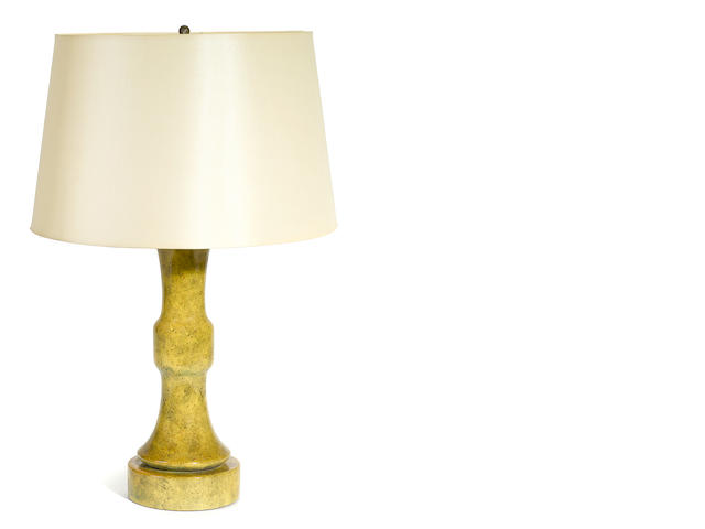 A William Haines glazed ceramic table lamp