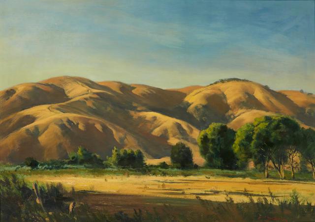 Emil Jean Kosa, Jr. (American, 1903-1968) Tehetchape 27 x 38in