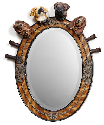 Pedro Friedeberg (Mexican, born 1937) Canine Mirror, 2007