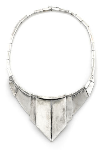 A Jean Despres necklace