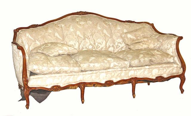 A Rococo style sofa 20th century