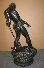A French patinated bronze group: Belluaire <BR />after a model by Desire Maurice Ferrary (France, 1852-1904)<BR />Siot Foundry, Paris<BR />late 19th/early 20th century