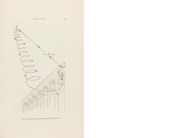 CHANUTE, OCTAVE, Aerial Navigation, Progress in Flying Machines (2)