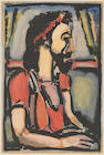 Georges Rouault (1871-1958); * RESERVE TO BE DETERMINED * Christ en profil, à droite, from Passion;