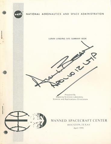 APOLLO LUNAR LANDING SUMMARY. Lunar Landing Site Summary Book. Houston, TX: NASA/MSC, April 1970.