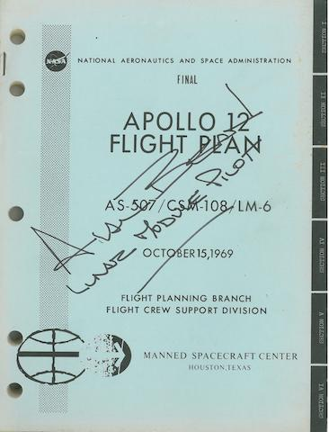 PLAN FOR MAN'S SECOND LUNAR LANDING. Apollo 12 Flight Plan, Final AS-507/CSM-108/LM-6.  Houston, TX: NASA/MSC, October 15, 1969.
