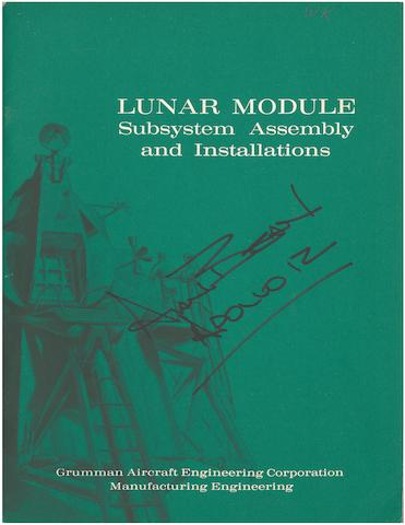 GRUMMAN LUNAR MODULE BROCHURE. Lunar Module: Subsystem Assembly and Installations. [Bethpage, NY]: Grumman Aircraft Engineering Corporation, December 1967.