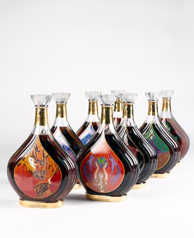 Courvoisier Erte 'Vigne' (1)  Courvoisier Erté 'Vendanges' (1)  Courvoisier Erté 'Distillation' (1)  Courvoisier Erté 'Viellissement' (1)  Courvoisier Erté 'Degustation' (1)  Courvoisier Erté 'L'Esprit du Cognac' (1)  Courvoisier Erté 'La Part des Anges' (1)  Courvoisier Erté 'Inedit' (1)