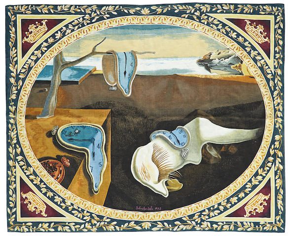 After Salvador Dali  Tapestry produced by Suzy Langlois