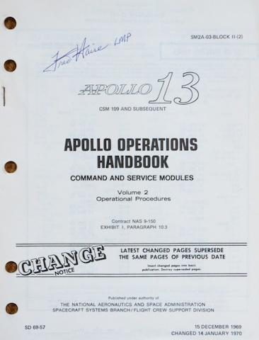 APOLLO 13 OPERATIONS—CSM UPDATES. Apollo 13 CSM 109 and Subsequent, Apollo Operations Handbook, Command and Service Modules, Volume 2, Operational Procedures. NASA/MSC: December 15, 1969, changed January 14, 1970.