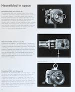 SPECIAL PUBLICATION BY THE SPACE CAMERA MAKER. Hasselblad 3. 1966.