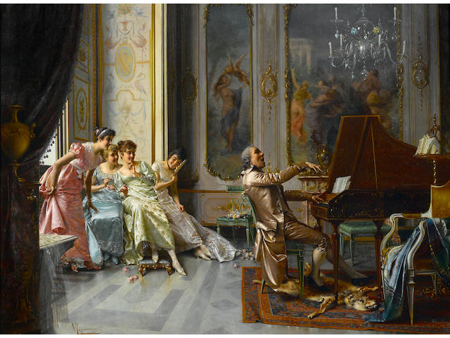 Vittorio Reggianini, The Audience