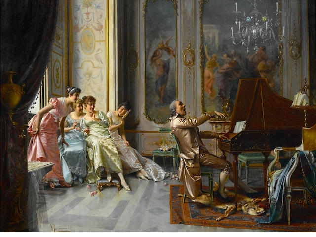 Vittorio Reggianini, The Audience