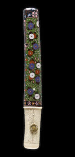 A Masahide school tanto in cloisonné enamel mounts By Yoriyoshi Naotane, late Edo period (19th century)