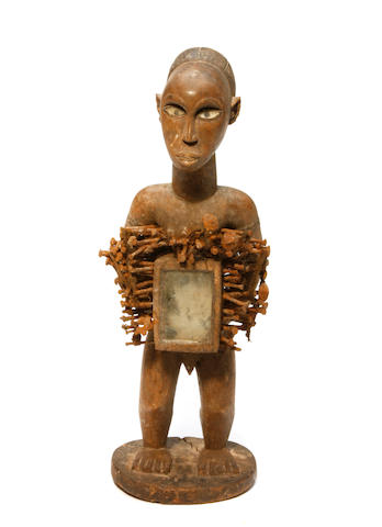 A Zaire fetish figure