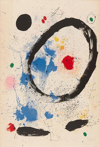 Joan Miró (1893-1983); Twilight's Ring;