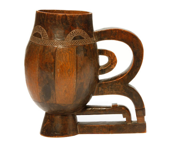 A ceremonial cup