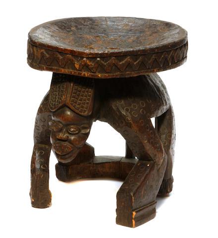 A Bamileke stool