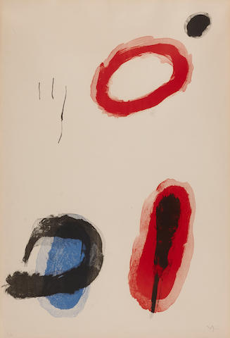 Joan Miro, The Ring (M.305), 1964, lithograph