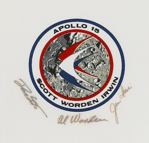 APOLLO 15 BETA CLOTH EMBLEM.