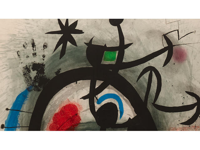 Joan Miró (1893-1983); Le Permissionnaire;