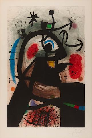 Joan Miró (1893-1983); Le Permissionnaire;