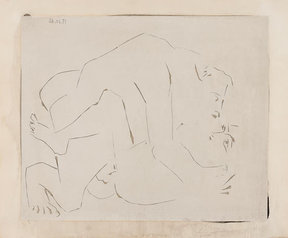 Picasso, The Embrace, 34/50