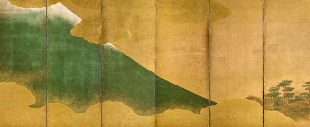 Anonymous (17th century) Mt. Fuji and Musashino grasses