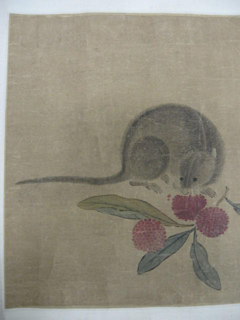 Anonymous (Qing dynasty) Lychee and Rat