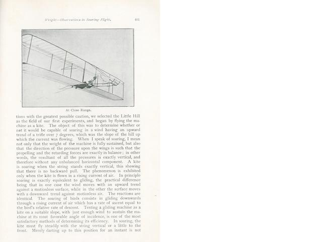 WRIGHT—SOME AERONAUTICAL EXPERIMENTS. 1.  Some Aeronautical Experiments. December, 1901.