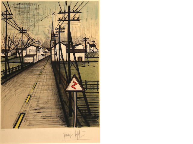 Bernard Buffet, * RESERVE TO BE DETERMINED * La Route (S.41), 1962;