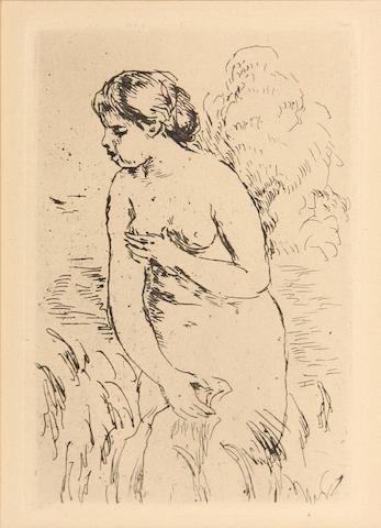 Renoir, Baigneuse Debout (D.23), print (posthumous);