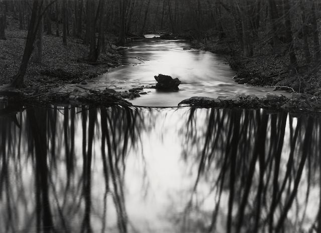 Paul Caponigro (born 1932); Stream, Redding, Connecticut;